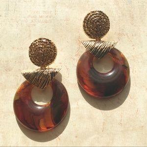 Jewelry - New 80s Inspired Statement Dangle Women Earrings